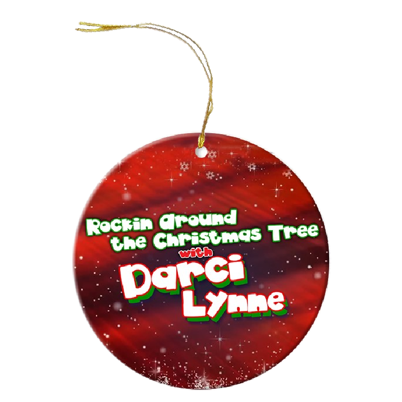 Darci Lynne Christmas ornament