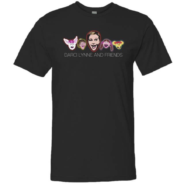 Darci Lynne and Friends black tee